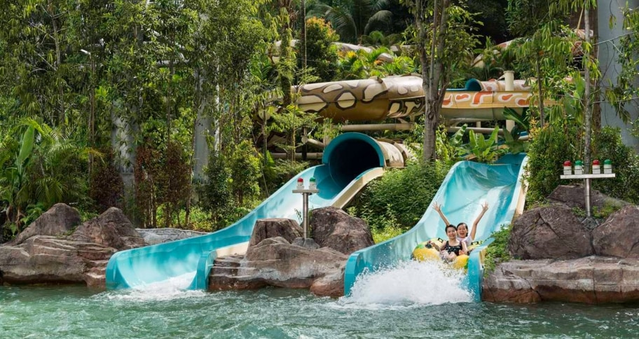 Sunway Lagoon Admission Ticket with 1/2 Way Transfer