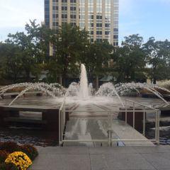시카고 AON 센터 여행 사진