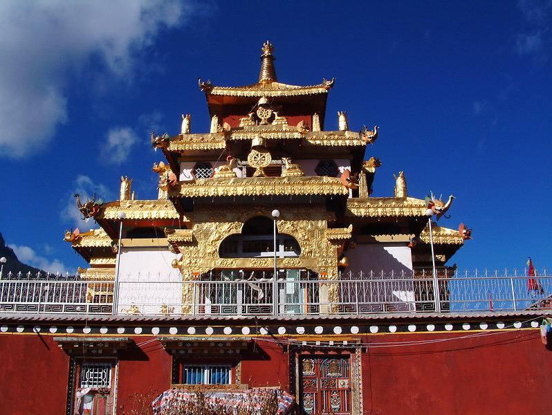 格薩爾王獅龍宮殿