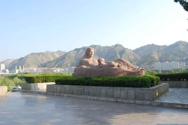 Binhe Park of Lanzhou