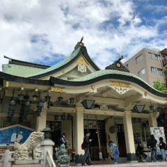 난바 야사카 신사 여행 사진