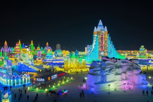 The Powerful Harbin Winter Experience with Limited Sunlight