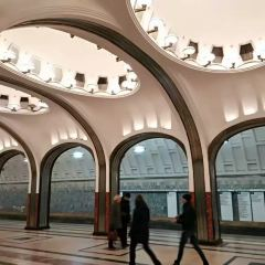 Mayakovskaya metro station User Photo