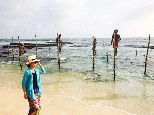 科格勒高蹺漁民