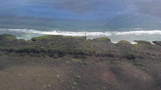 坦克沙滩景色不错,据说这里是二战期间美军攻打塞班进行坦克空投