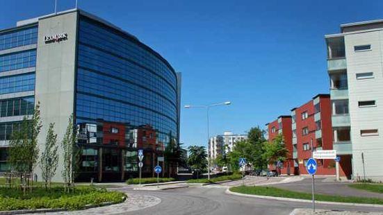 这里是诺基亚的总部,它位于芬兰的第二大城市埃斯波,诺基亚中心