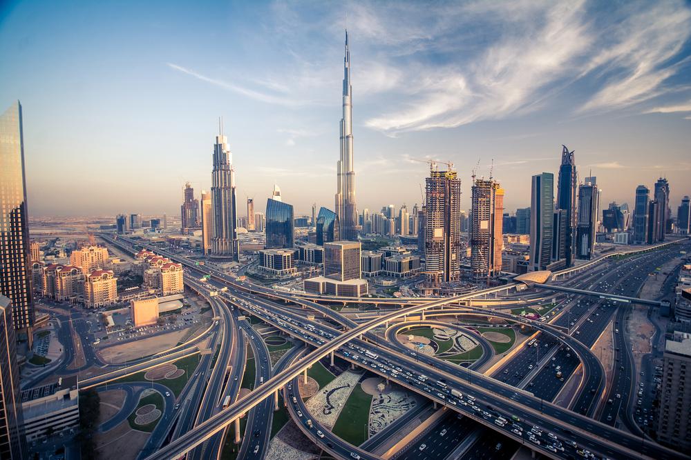 Dubai City Sightseeing - Modern City with Burj Khalifa