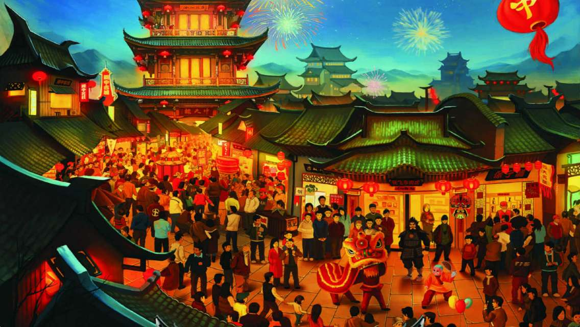 Langzhong Ancient City Ticket