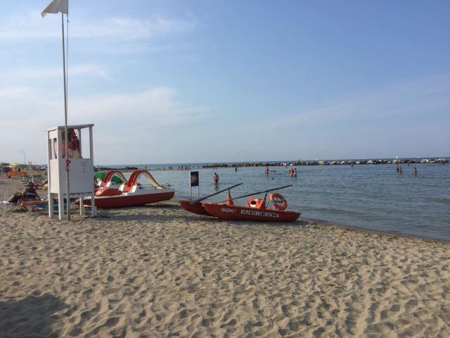 Beach of Rimini