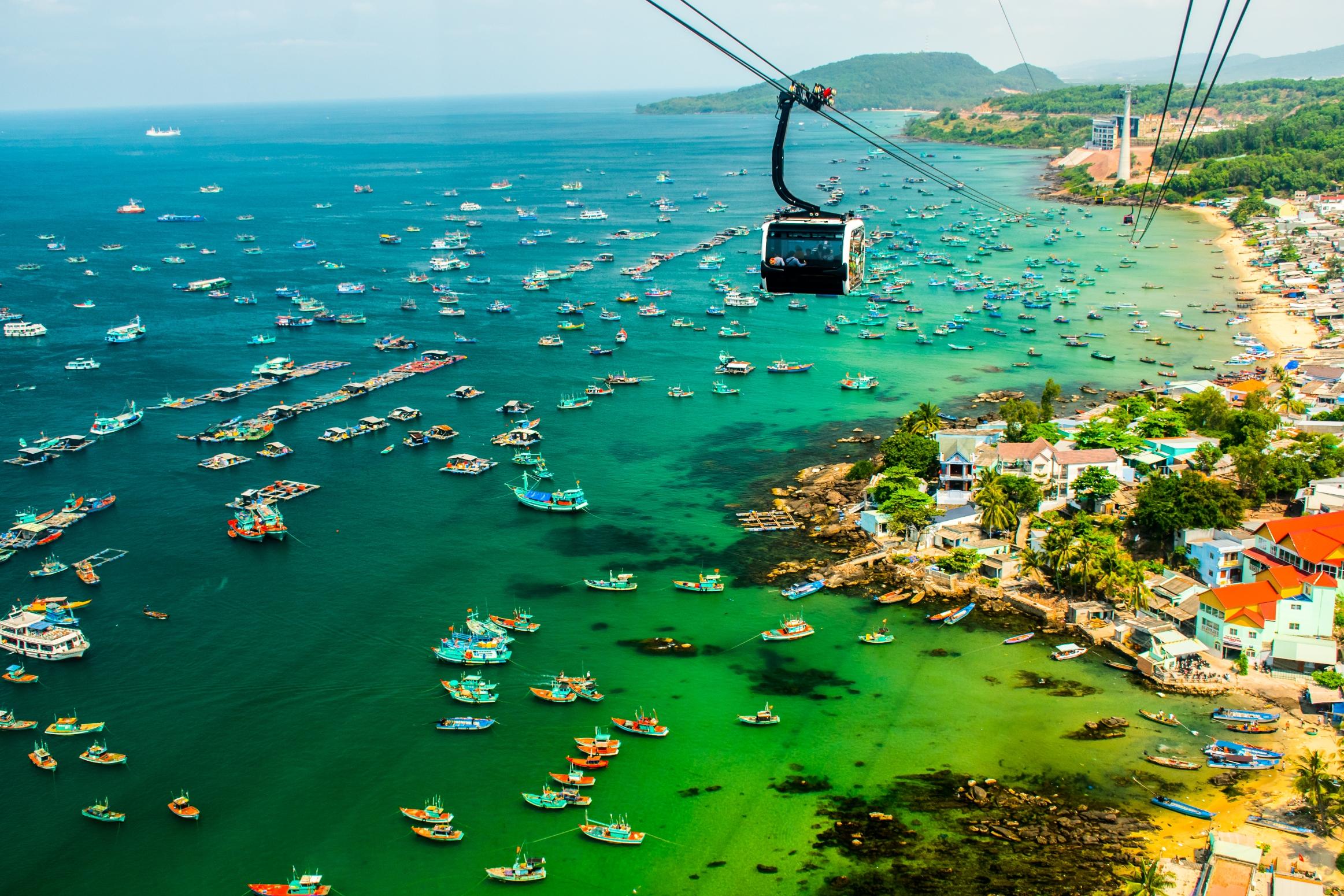 富國島香島公園跨海纜車雙程票