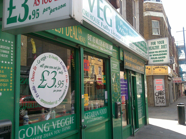 Asian Food in London - The Most Affordable