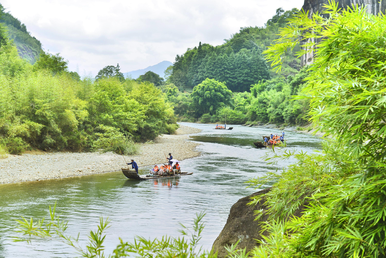 Jiuquxi Bamboo Rafting