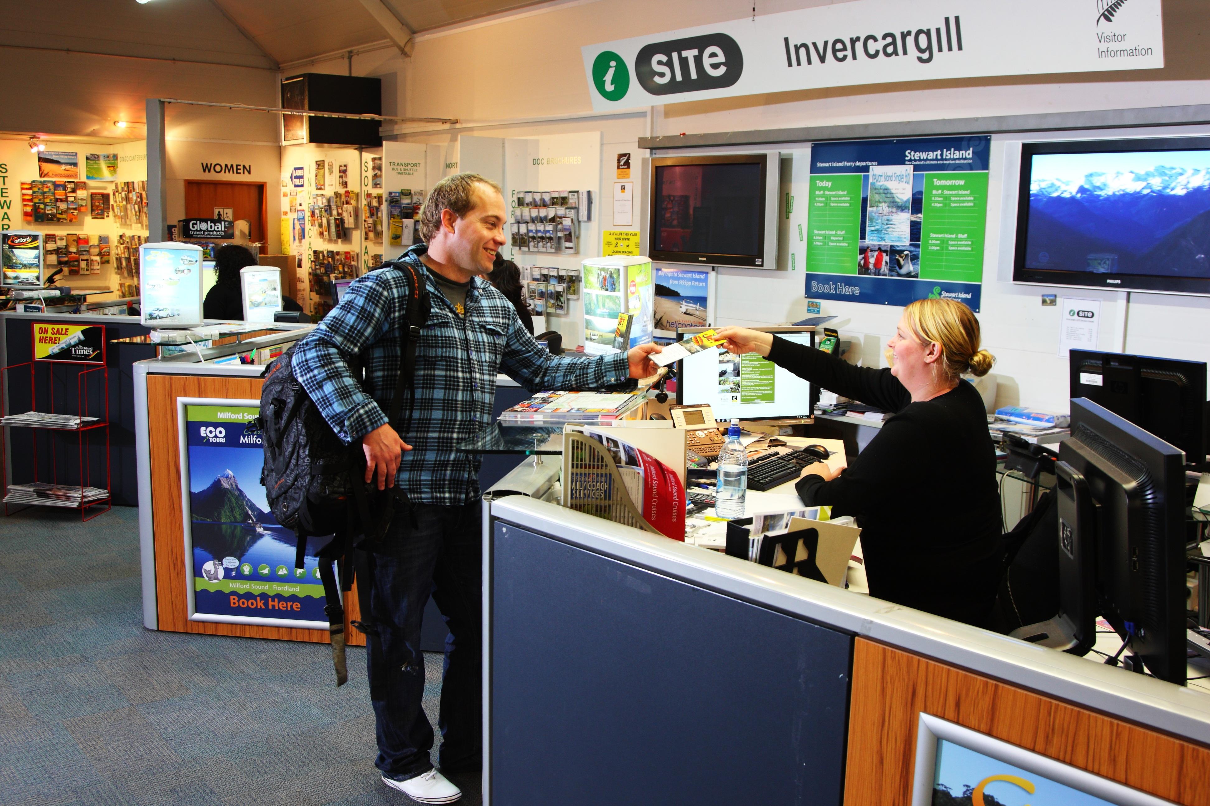 Invercargill i-SITE Visitor Information Centre