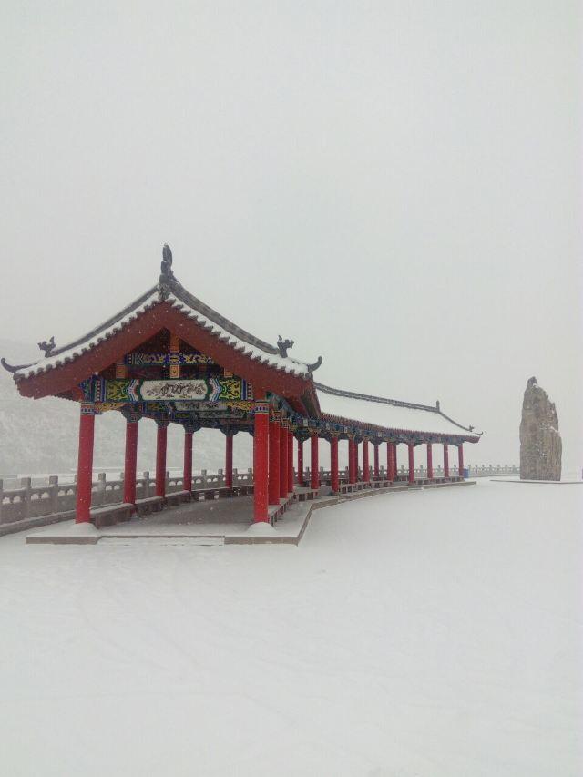 柳林黃河母親景區