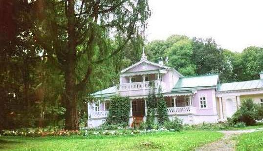 the Museum of I. S. Turgenev