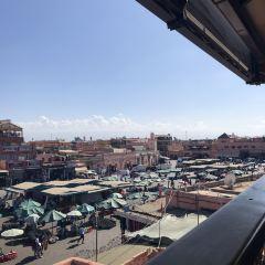 마라케시 시장 여행 사진