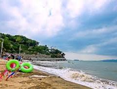 후리산 해수욕장 여행 사진