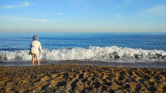 巴塞羅那塔海灘