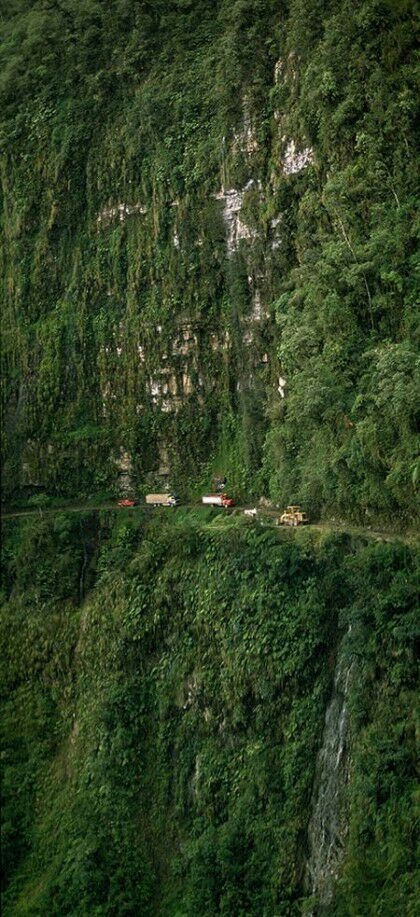 North Yungas Road