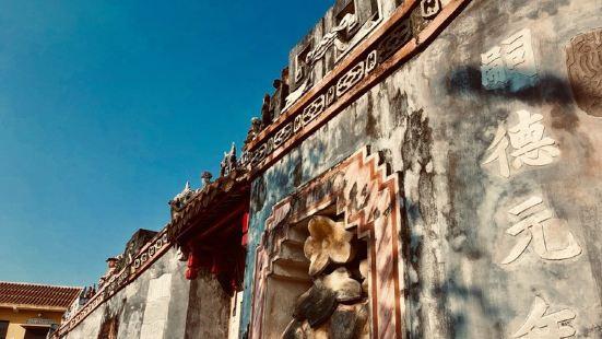 关帝庙是在海外最常见的宗教性的建筑了,这里的关帝庙特别的古老