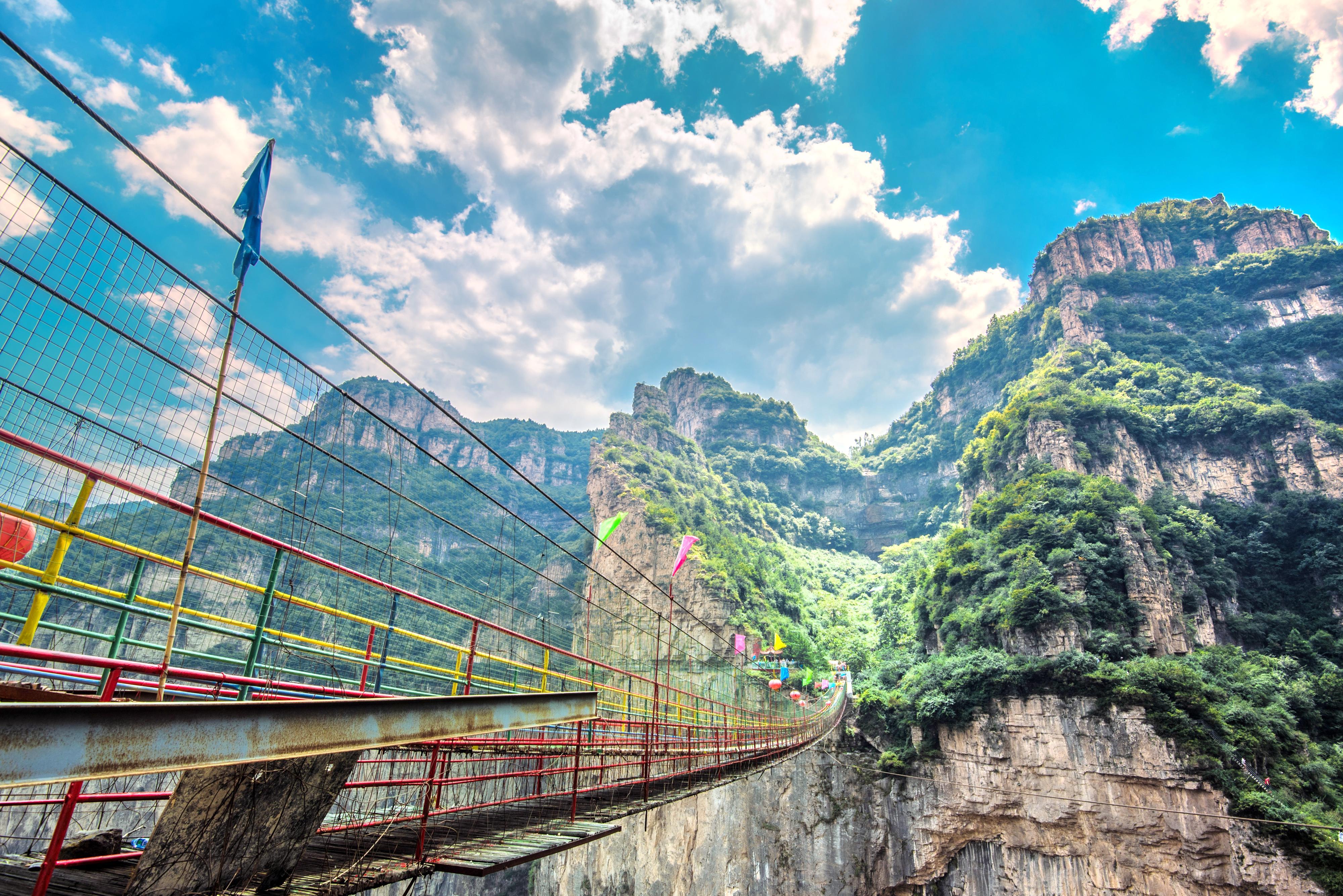 天脊山自然風景區