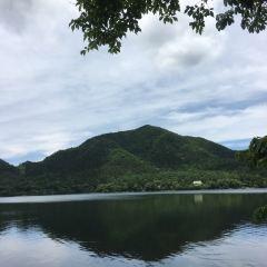 하루나 호수 여행 사진