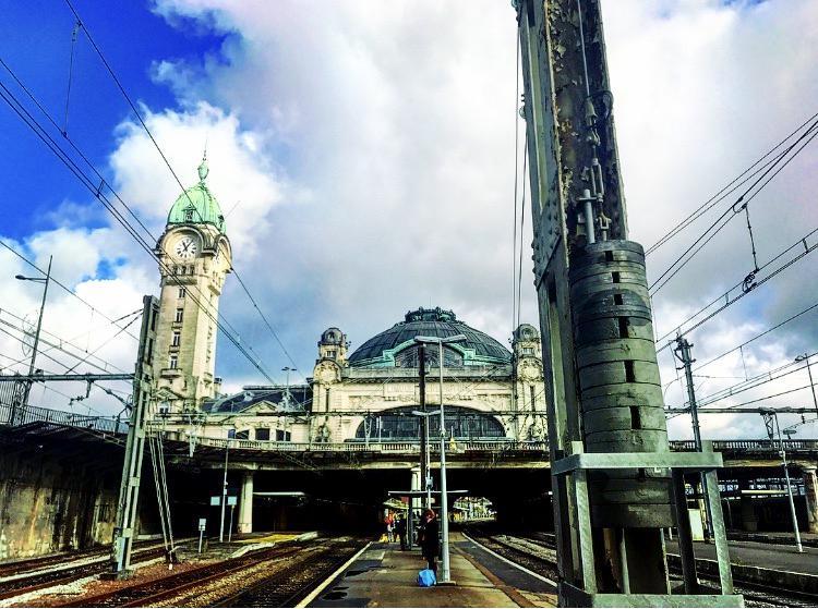 利摩日火車站