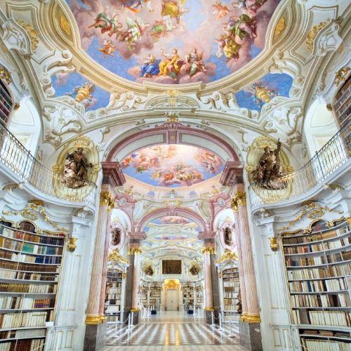 阿德蒙特修道院圖書館