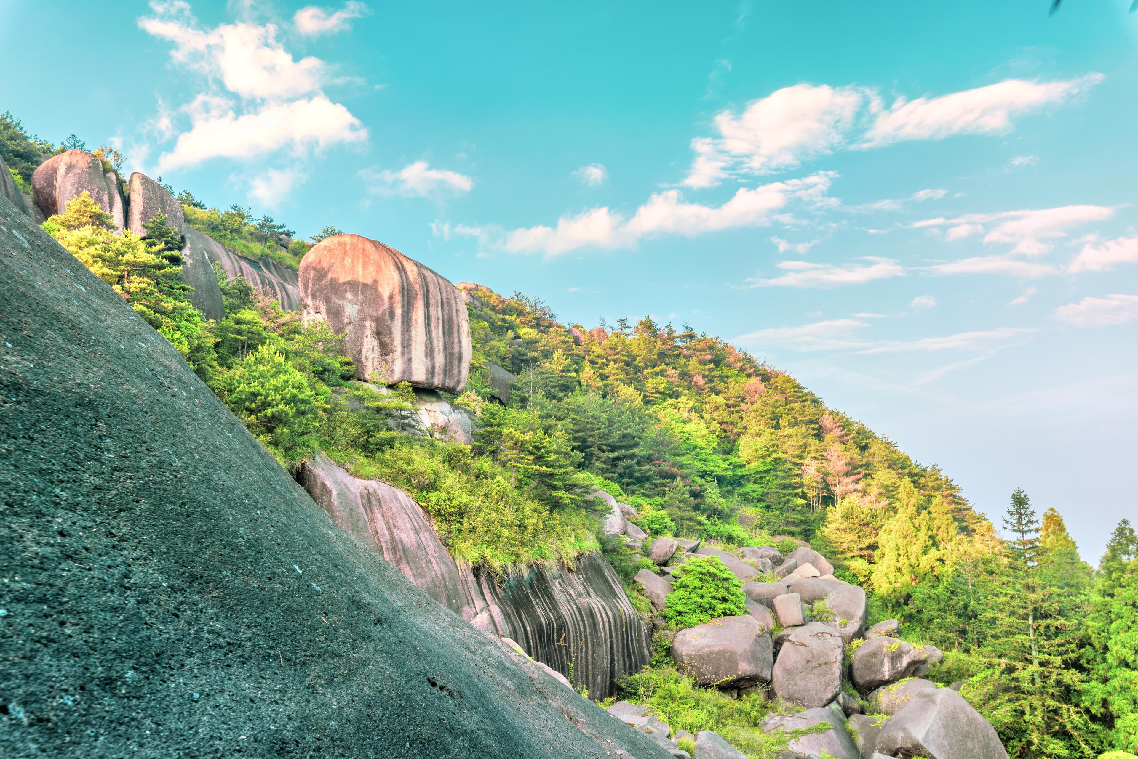 Yucang Mountain of Cangnan
