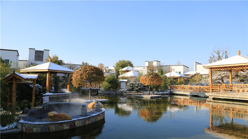 란추이호수 톈무 온천리조트