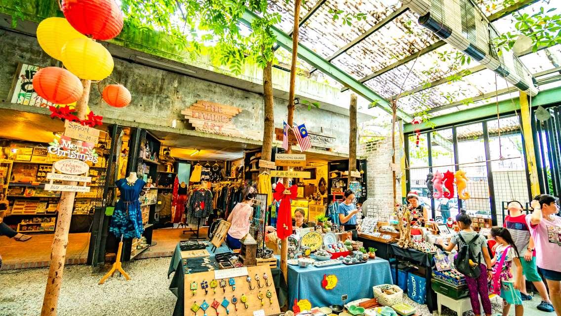 檳城州怡保舊街場+二奶巷+凱利古堡+柚子街一日遊(喬治市往返 | 霹靂州太平湖怡保遊)