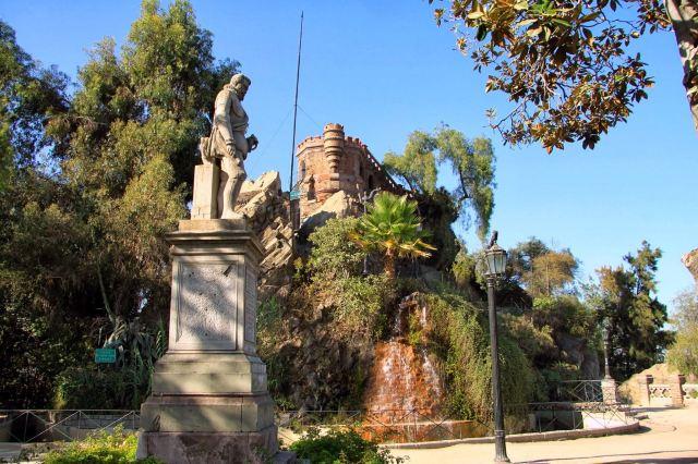 Cerro Santa Lucia hill