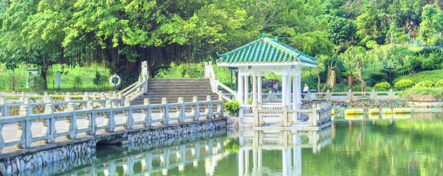 도심 속 휴식처, 공원 산책