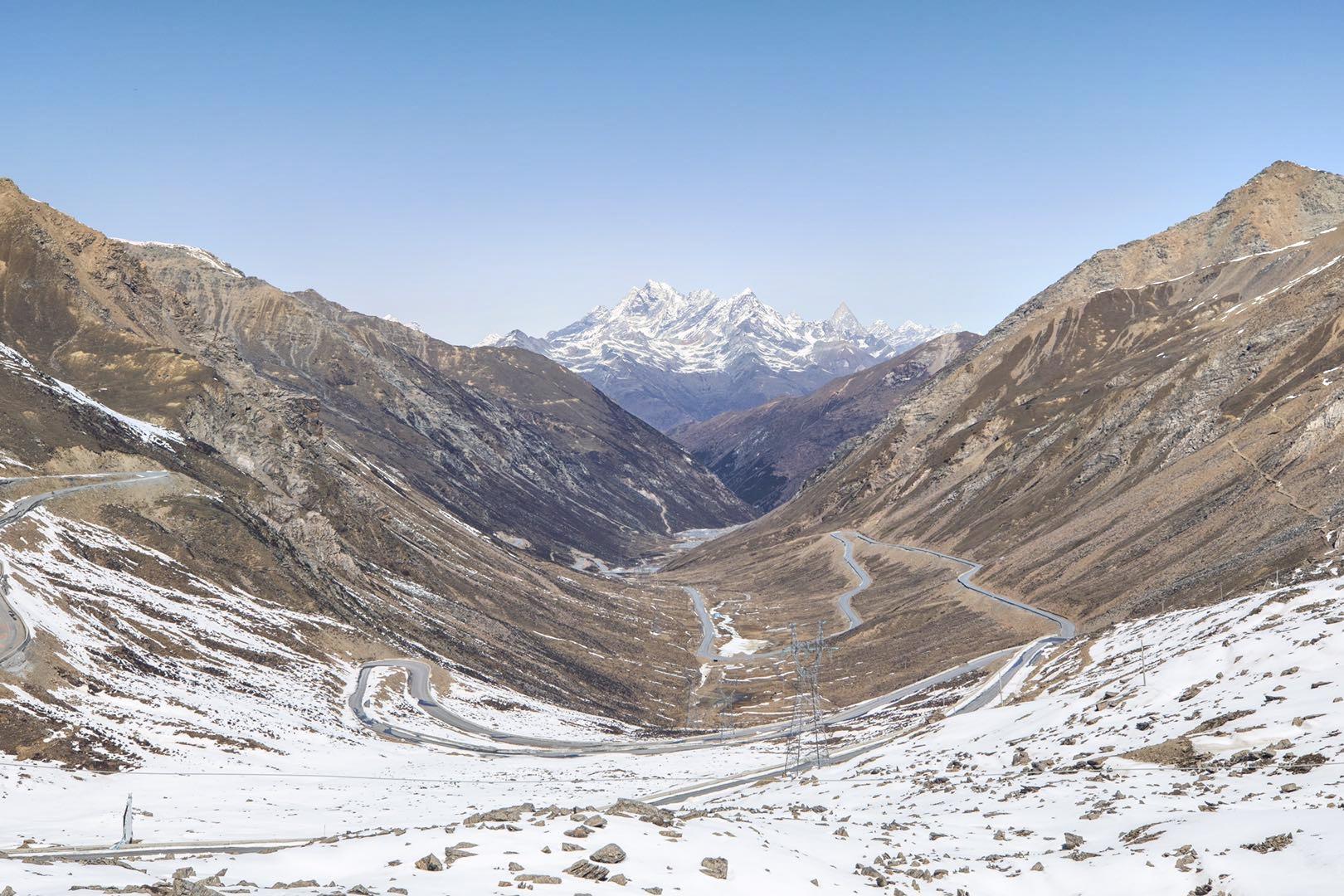 Balang Mountain Pass