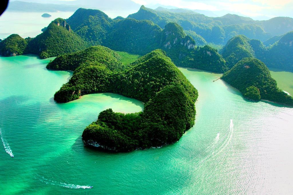 다양 분팅섬