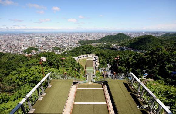 札幌大倉山展望台來回纜車票