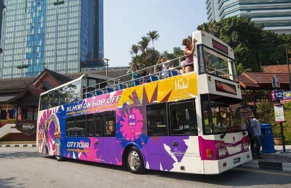 吉隆坡雙層觀光巴士票