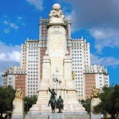 마드리드 에스파냐 광장 여행 사진