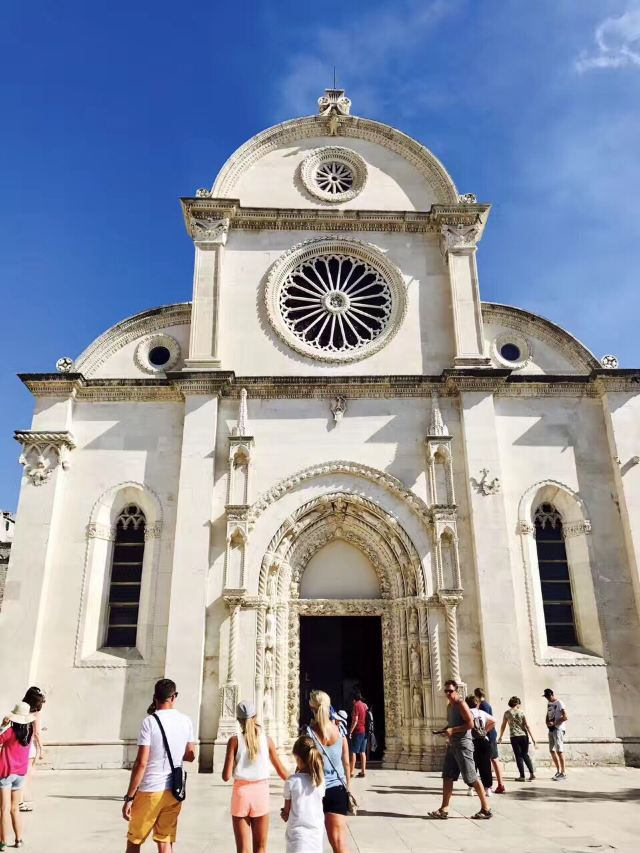 Cathedral of St. James in Sibenik