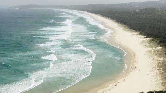 拜伦湾与灯塔,澳洲的最东边,是我们看过的几个灯塔景点中最值得