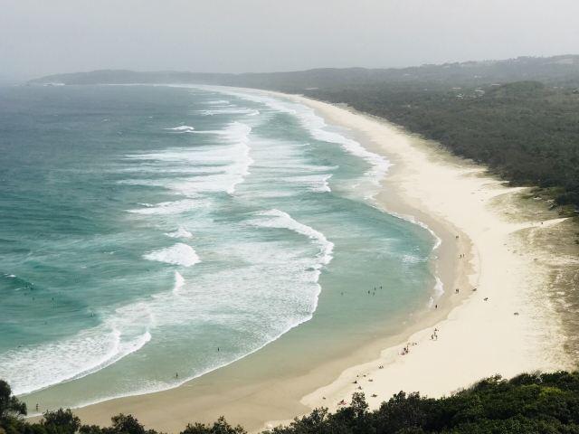 Belongil Beach