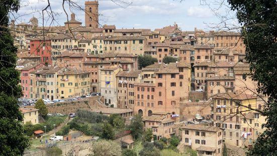 临时决定去锡耶纳玩一天,从佛罗伦萨出发两个小时的车程,车次多