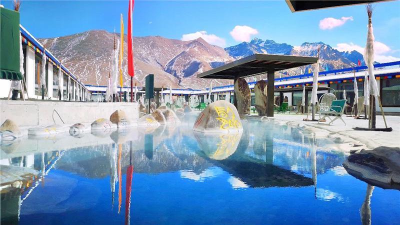 藍色天國羊八井地熱旅遊區