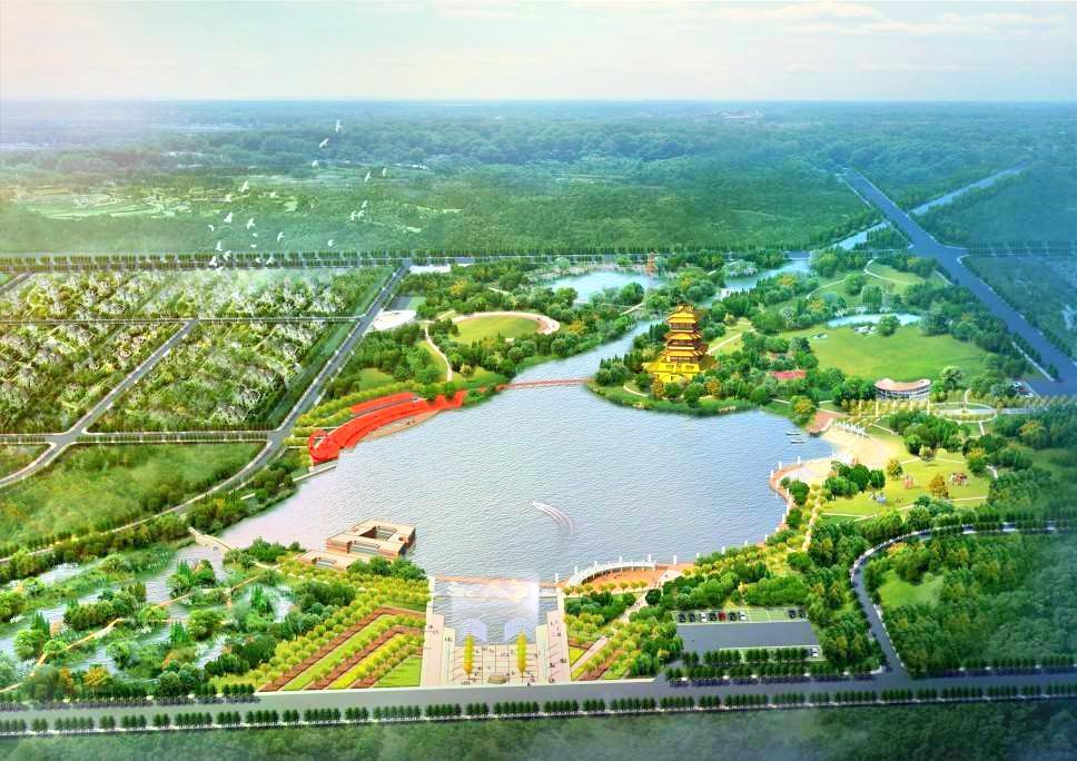 Jinshui Lake Ecological Tourism Park