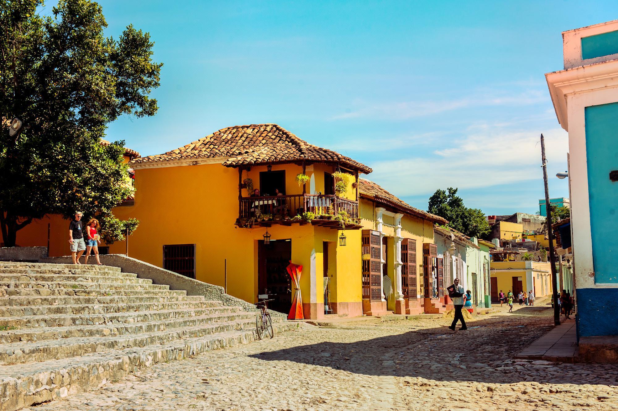 Trinidad's old town