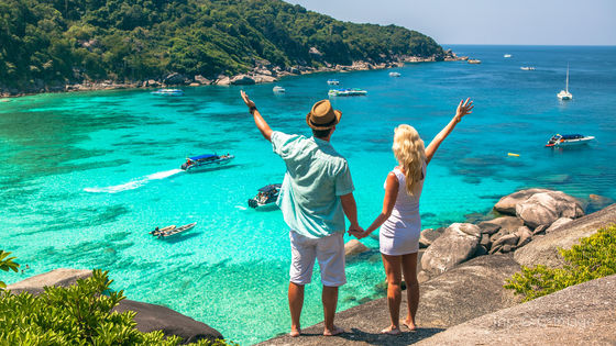 Similan Islands Day Trip (pick up from Phuket/ English and Chinese guide)