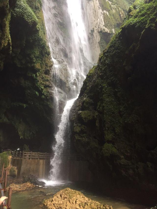 廣西通靈大瀑布