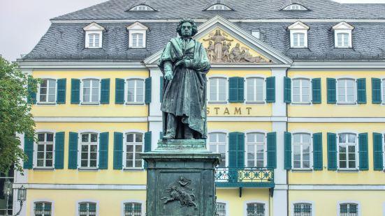 貝多芬紀念雕像(大教堂廣場)