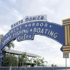 Santa Monica Yacht Harbor Sign User Photo