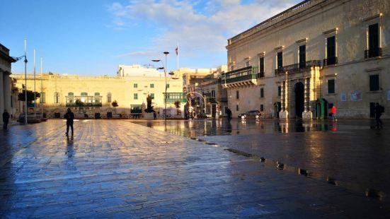 大王宫又称骑士团首领宫,位于首都瓦莱塔中心,建于16世纪到1